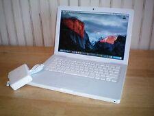 Apple Macbook Mid 2009 A1181 2.13GHz 160GB 4GB 10.11 El Capitan Office iLife
