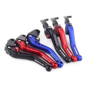 Short Brake Clutch Levers For SUZUKI GSX-R 125/150/250 GSXR 600/750 GSX-R1000