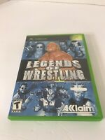 Legends of Wrestling (Microsoft Xbox, 2002) Complete