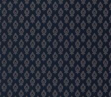 smita Tapete ODEA 47004 ORNAMENTO BARROCO Negro Azul Vinilo Papel pintado