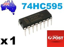 74HC595N 8 Bit Shift Register Arduino/PIC 16Pin DIP AU STOCK Fast Delivery