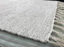 Cotton Blend Solid Contemporary Rugs