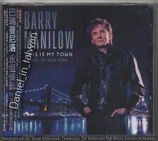 TAIWAN OBI CD Barry Manilow: This is my town Songs of New York (2017)
