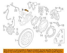 FORD OEM 15-18 Mustang Brake-Rear-Caliper Mount Bolt W719117S439