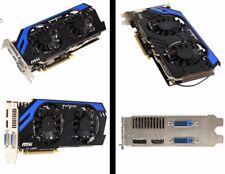 MSI NVIDIA GeForce GTX 670 (2048 MB) PCI-E, (N670 PE 2GD5/OC) Grafikkarte