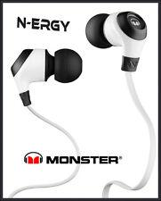 Monster NERGY WEISS - N-ERGY In Ear Kopfhörer NEU ✔ OVP ✔ DHL Blitzversand ✔