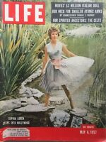 SOPHIA LOREN 1957 LIFE Magazine THE CELTS / U.S. NUCLEAR POLICY / BUSTER KEATON