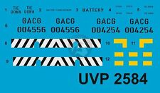 Peddinghaus 1/72 US Navy NC-8A NAS & NC-2A EPU Markings (Verlinden 2584) UVP2584