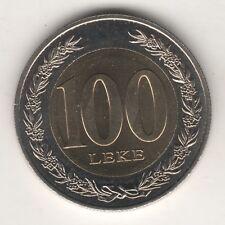 ALBANIA 100 LEKE 2000 FDC UNC BIMETALLICA #MM190