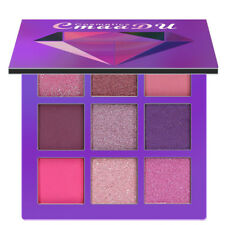 Hot  Cosmetic Matte Cream Makeup Palette Shimmer Set 9 Color Eyeshadow Purple