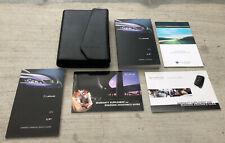 2012 12 Lexus ISF IS F COMPLETE OEM Owner User Manual for V8 5.0L Engine + Case