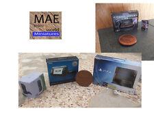 Miniature set box Console PS4,XBox,WiiU,Sega and Game