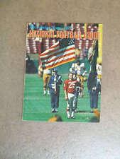 NFL TSN SPORTING NEWS FOOTBALL GUIDE - 1971 - NEAR MINT