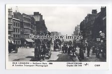 pp2212 - London - Horse & Carriages along Holborn Bars in 1886 - Pamlin postcard