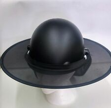 Hard Hat SHADE w/ CLIP - Black for ALL TYPES of Hard Hat - Full Brim, Fibre, CAP