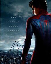Andrew Garfield Hand Signed 10x8 Photo Original (Spiderman)