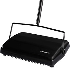 "Casabella 11"" Electrostatic Cordless Carpet Sweeper Lightweight Floor Cleaner"