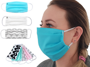 1-5 Piece Mask Face Mask Washable Breathing Protection Mouth Guard Reusable