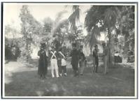 Théâtre, 1924, en Egypte  Vintage silver print.  Tirage argentique  12x17