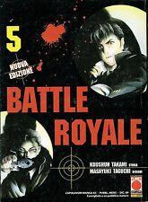 Battle Royale 5 di M.Taguchi ed. Planet Manga