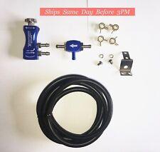 TurboSmart - In-Cabin Manual Boost Controller w/ Boost Tee | 0106-1001 | Blue