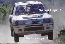 Ari Vatanen Peugeot 205 Turbo 16 Winner San Remo Rally 1984 Photograph 4