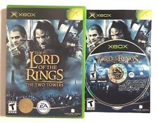 cib Lord of the Rings: The Two Towers (Microsoft Xbox, 2002) Complete