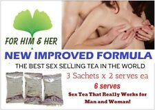 Aphrodisiac SEX TEA FOR MAN ERECTION & WOMAN BOOST DESIRE LIBIDO ORGASM NO PILLS
