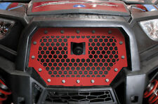 Steel Grille for RIDE COMMAND Polaris RZR 1000 XP 17+ UTV Grill Part HEX RZR Red