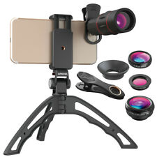 Apexel - 18X Telescope and 15x Macro Lens Kit with Hand Held Tripod For Smartpho