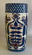 Royal Copenhagen BACA FAJANCE Pillow Vase 20cm Tall Signed by Artist MJ