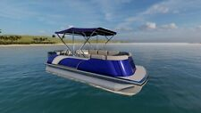 NEW AUSTRALIAN DESIGNED AND BUILT 22ft PONTOON BOAT Full cover bimini
