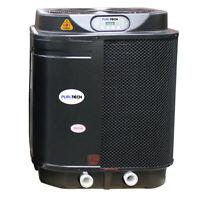 Puri Tech Quiet Heat 127,000BTU Swimming Pool Heat Pump With Savings Optimizer