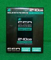 "240 GB SSD (Solid State Drive) Inland Professional 2.5"" laptop SATA 6Gb/s NEW"