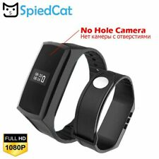 Mini Cam Secret Camera Smart Watch Band Camcorder Pedometer Recording Voice Men