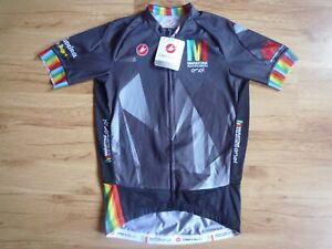Castelli Maratona Dles Dolomites Enel Cyclig Jersey FZ Size L BNWT