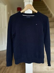 Tommy Hilfiger Navy Blue Cotton Jumper Age 12/14 Years
