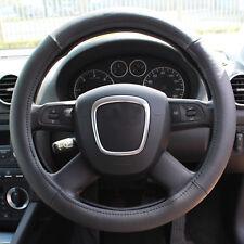 "Universal 14""-15"" Soft Geniune Leather Auto/Car/Van Steering Wheel Cover Glove"