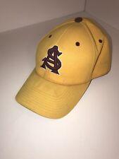 Arizona State University Sun Devils Baseball Cap Hat Yellow colosseum 7 1/4