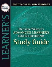 Merriam-Webster's Advanced Learner's English Dictionary (Paperback or Softback)