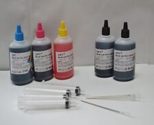 Bulk 500ml refill ink for Lexmark ink cartridge 4 color