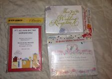 Carlton Cards: 10 Couples Shower , 20 Wedding Reception , & 10 Change Of Address