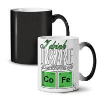Coffee Chemistry Geek NEW Colour Changing Tea Coffee Mug 11 oz   Wellcoda