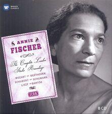 ANNIE FISCHER - ICON:ANNIE FISCHER 8 CD NEU MOZART/BEETHOVEN/SCHUBERT/+