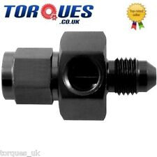 "AN -4 (AN4) Male- Female Union 1/8"" NPT Side Port Black"