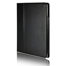 BLACK LEATHER FLIP MAGNETIC PROTECTOR CASE COVER STAND FOR APPLE IPAD 2 3 4