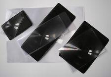 Set of 4 different sizes of lightweight sheet magnifier