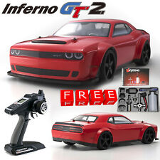 Kyosho Inferno GT2 Dodge Challenger DEMON Nitro Car 1/8 RTR w/ Free Nitro Pack