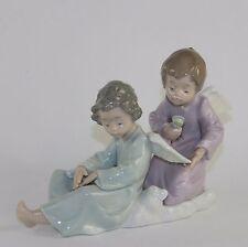 "LLADRO ""ANGEL CARE"" #5727 FIGURINE ~ ANGELS WITH BRUSH ~ MINT W/BOX ~"