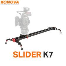 """Konova Camera Slider K7 100cm(39.4"""") Kamera Schiene Slider Videoschiene für DSLR"""